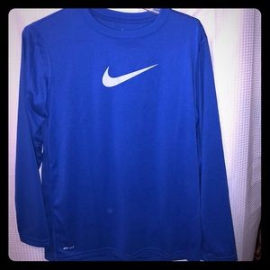 Long sleeve dri fit Nike T-shirt